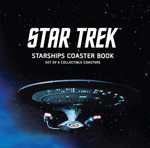 Star Trek Starships Coaster Book: Set of 6 Collectible ()