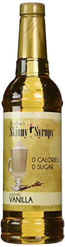 Sugar Free Vanilla Latte - Jordan's Skinny Gourmet Syrups Sugar Free, Vanilla, 25.4-Ounce