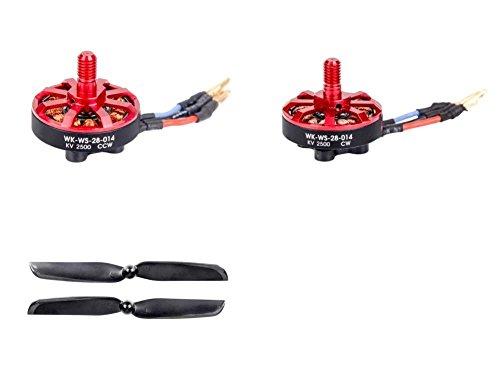 Walkeraランナー250 ( R )高度なGPSクアッドコプタードローン[ QTY : 1 ]ランナー250 ( R ) -z-09時計回りブラシレスモーター( CW ) ( wk-ws-28 – 014 ) for Advanced GPSクアッドコプタードローンkv2500 [ QTY : 1 ] 250 ( R ) -z-10カウンタ( CCW B01MEBPLNU