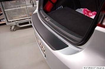 Protector de parachoques trasero de estilo carbono para Citroen C4 Picasso desde 2014