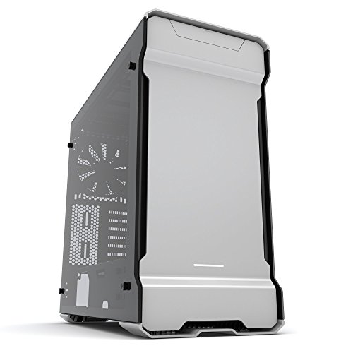 Phanteks Enthoo Evolv ATX Computer Case - Tempered Glass Edition, Galaxy Silver PH-ES515ETG_GS
