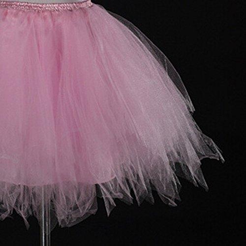 Courte Coloré Femme Pour Tulle 44 Plissé 42 Mini Ballet Princesse Jupon Feoya Cosplay 36 Dentelle Costume 34 Rose Bouffée En Tutu Danse Bal 2 40 Jupe Déguisement 38 jupe Soirée Elastique BfzIaxIn5q