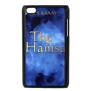 ipod 4 cell phone cases Black HAMSA fashion phone cases UTE445090