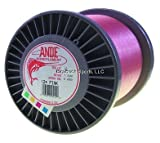 Ande A2-12P Premium Monofilament, 2-Pound Spool, 12-Pound Test, Pink Finish