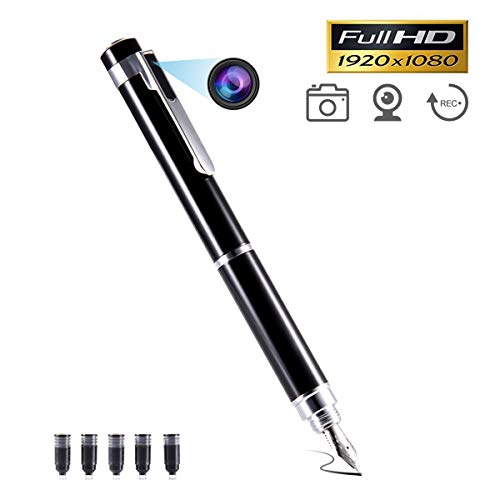 Spy Camera Pen Hidden Camera,NANIBO Portable HD 1080P Video & Photo Recorder Security Pen Camera for Business Office