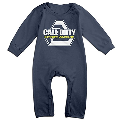 [Newborn First-person Shooter Video Game Long Sleeve Baby Climbing Clothes 24 M] (Work Out Video Star Costume)