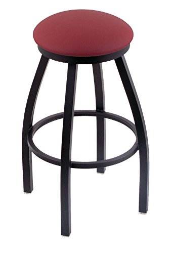 Frame Red Wine Black Seat (Holland Bar Stool Co. 802 Misha 25