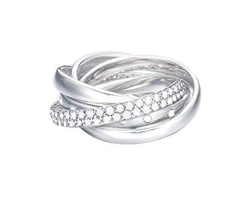 Esprit-Bague Femme jw50057-Oxyde de zirconium esrg02838a