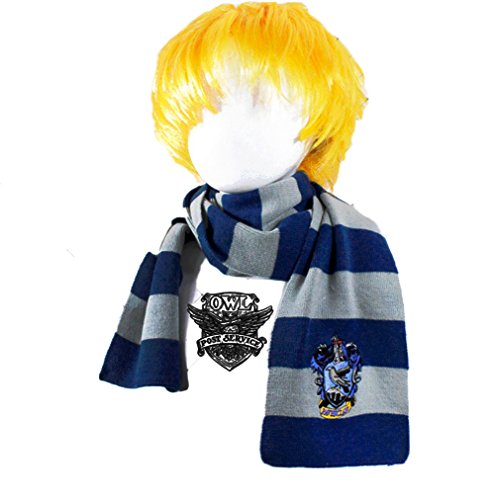 Ravenclaw House Scarf (I'MQueen Girls Hogwarts House Scarf Ravenclaw Crochet Scarves Harry Potter)