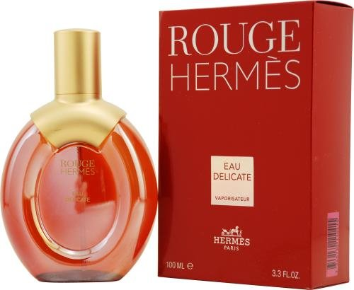Rouge by Hermes for Women. Eau Delicate Spray 3.4-Ounces