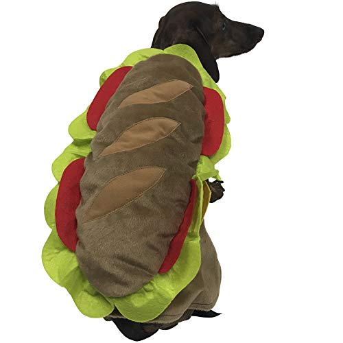 Hoagie Costume for Small Dogs (Small) -