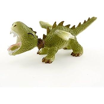 top collection 4413 miniature fairy garden terrarium mini dragon roaring statue small