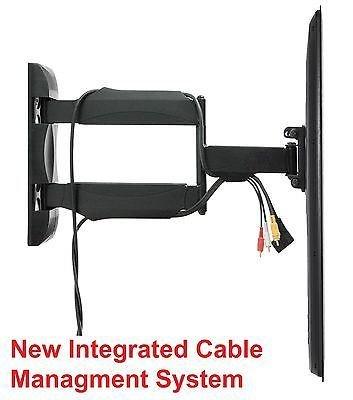 TV Wall Mount Articulating Bracket LED LCD Swivel Tilt 32 37