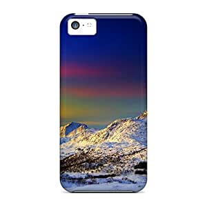 Iphone 5c Case Slim [ultra Fit] Winter Morning Protective Case Cover