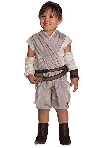Rubie's Costume Girls Star Wars VII: The Force Awakens Rey Costume, Multicolor, 2T -