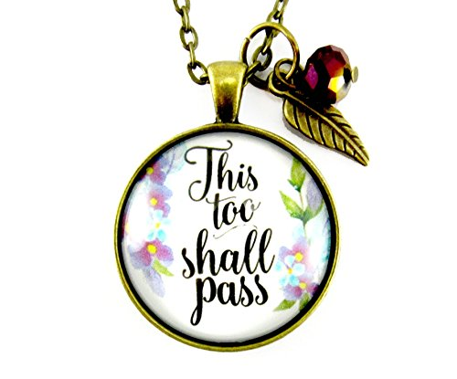 24-this-too-shall-pass-watercolor-floral-shabby-style-necklace-glass-bronze-pendant-encouragement-je