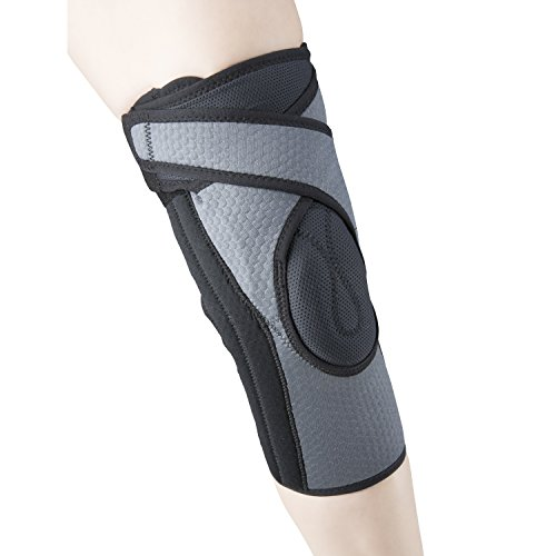 OTC Patella Uplift Spiral Stays Airmesh Select Series Knee Support, Grey, X-Large