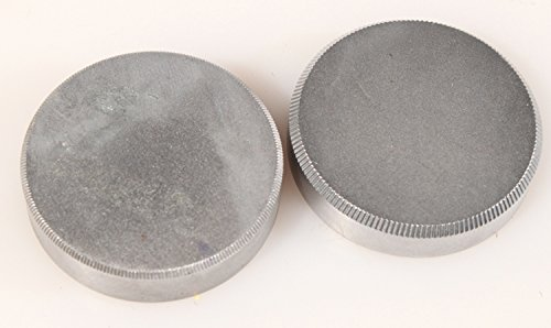 - LEICA M42 METAL REAR LENS CAPS, SET OF 2