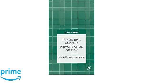 Fukushima and the Privatization of Risk (Palgrave Pivot)