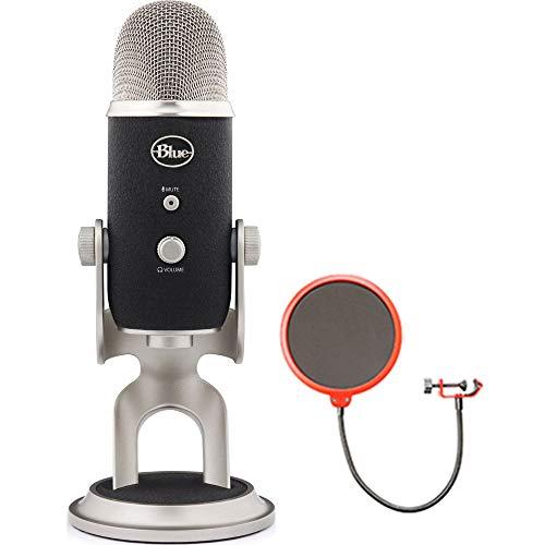BLUE MICROPHONES Yeti Pro USB Condenser Microphone, Multipat
