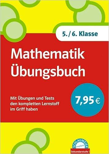 Schlaumeier: Mathematik Übungsbuch 5./6.Klasse: Mit Übungen und ...