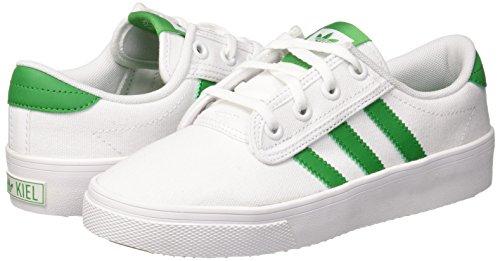 ftwbla Ftwbla Unisex Adultes Kiel 000 Baskets Adidas Blanches Verde Xang0xx