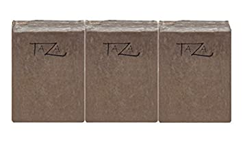 Premium Taza Dead Sea Mineral Mud Natural Soap Pack of 3 Each 5.3 oz 150 g Radiant Glowing Skin Contains Dead Sea Mineral Mud Coconut, Olive, and Palm Fruit Oils, Shea Butter, Eucalyptus
