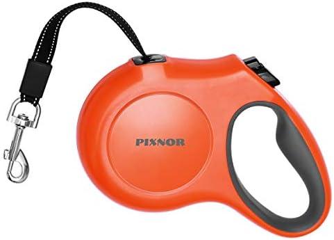 PIXNOR Retractable Leash Medium Orange