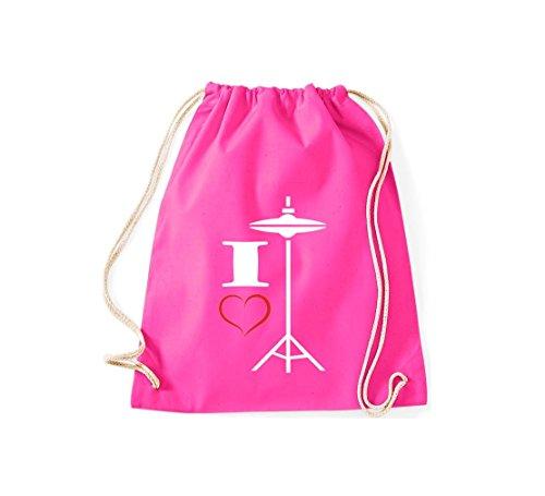 De Tela Bolso Para Shirtstown Mujer Rosa Algodón 5HP0qwx