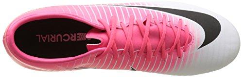 Nike Mercurial Victory Vi Fg, Zapatillas de Fútbol para Hombre Rosa (Racer Pink/black-white-white)