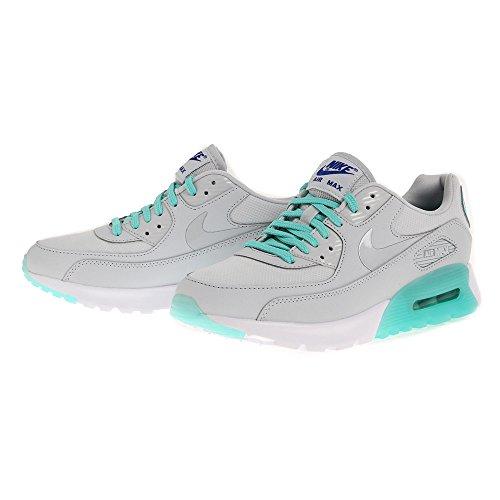 Nike W Air Max 90 Ultra Essential, Zapatillas de Deporte Para Mujer Plateado (Pr Pltnm / Pr Pltnm-Hypr Trq-Spr)