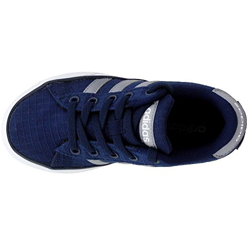 Pictures of adidas NEO SE Daily Vulc K Kids AQ1283 Collegiate Navy/Grey/White 3