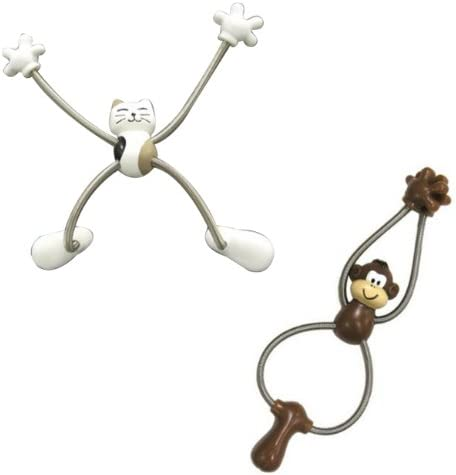 Wrapables Spider Magnet Set of 2 Cat /& Happy Face