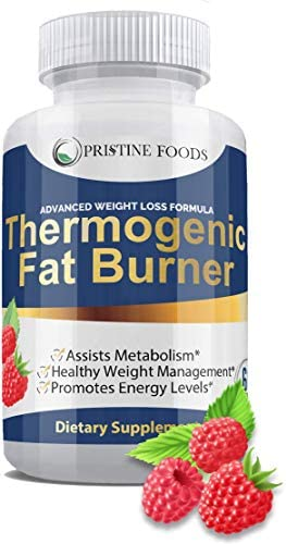 Thermogenic Fat Burner for Men and Women – High Dose Weight Loss Pills, Metabolism Booster and Appetite Suppressant 60 Vegan Diet Pills All Natural Made in USA 60 caps