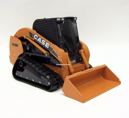 [Ertl Case TV380 Tracked Skid Steer, 1:16 Scale] (Tracked Tractor)
