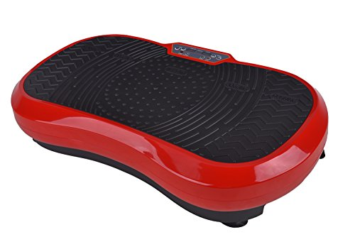 Fitness Vibration Platform Workout Machine Exercise Equipment For Home Vibration Plate Balance Your Weight Workout Equipment Includes, Remote Control & Balance Straps Included