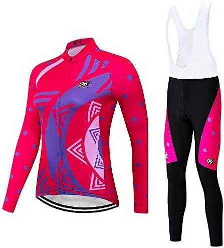 サイクルジャージ 女性の夏と秋の長袖ジャージ汗吸収性と快適な通気性の紫外線保護 吸汗速乾高通気 (色 : A4, サイズ : S)