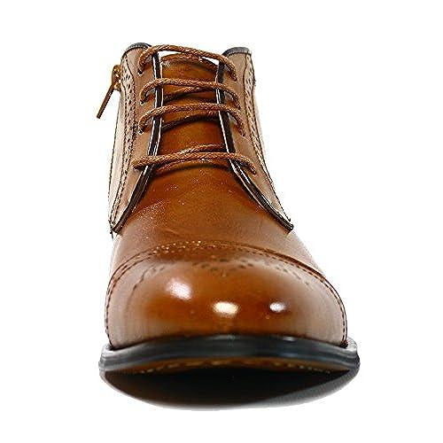 ba31deb25b47 free shipping La Milano B5502 Mens Tan Cap Toe Boots - promotion ...