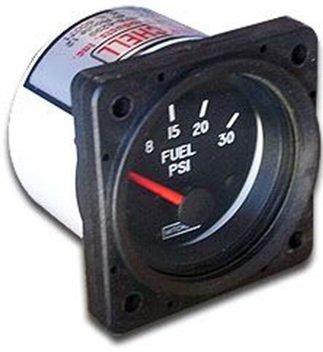"""エンジン計器 MITCHELL FUEL PRESS GAUGE 2-1/4"""" (燃圧計) 0-15psi"""