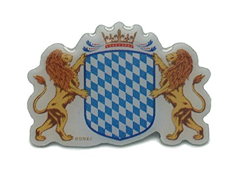 German Oktoberfest Hat Pin (Bavarian Coat of Arms)
