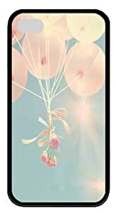 Balloon Custom iPhone 4s/4 Case Cover pc Black New Year gift