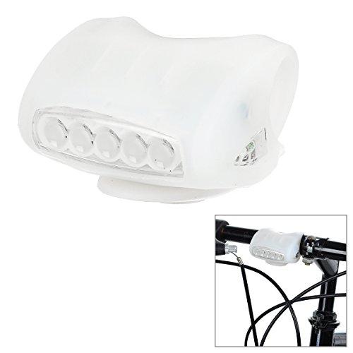 Pour Vélo éclairante 73modes Blanc froid lampe de lumière–Blanc