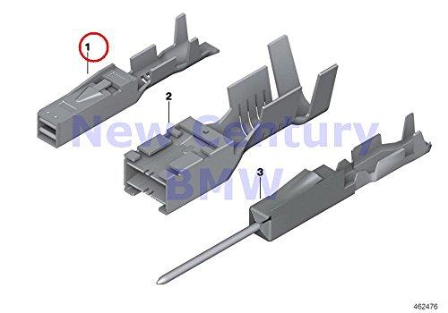 3 X BMW Genuine Terminal System Mcon Terminal Socket Mcon 1.2 Ela 0.5-0.75MM Sn 528i 528xi 535i 535xi 550i 535xi X5 3.0si X5 3.5d X5 4.8i X5 M X5 35dX - Francisco San 3 Terminal