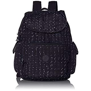 Kipling Women's Zax Backpack Diaper Bag, Tile Print, One Size