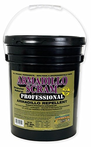Armadillo Scram Professional Repellent 22 Lbs Natural Rtu Armadillo - Repellent Armadillo