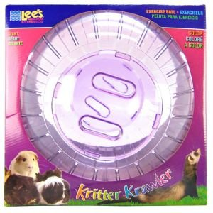 Kritter Krawler Pet Exercise Ball Size: Giant (12.5'' W), Color: Clear by Lee's Aquarium