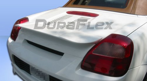 Duraflex Replacement for 2000-2005 Toyota MRS MR2 Spyder Type W Wing Trunk Lid Spoiler - 1 ()