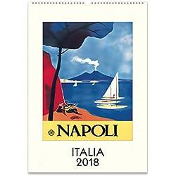 Cavallini Papers Italia 2018 Wall Calendar