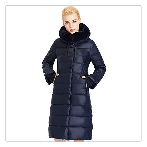 d1c03cd8cbc5c Msanlixian Women Coat Jacket Medium Length Woman Parka with A Rabbit Fur  Winter Thick Coat Women