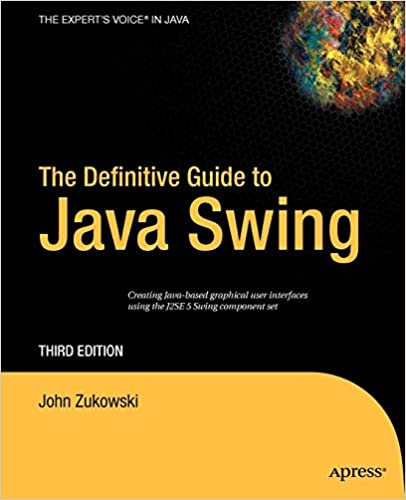 The Definitive Guide to Java Swing (Definitive Guides (Paperback